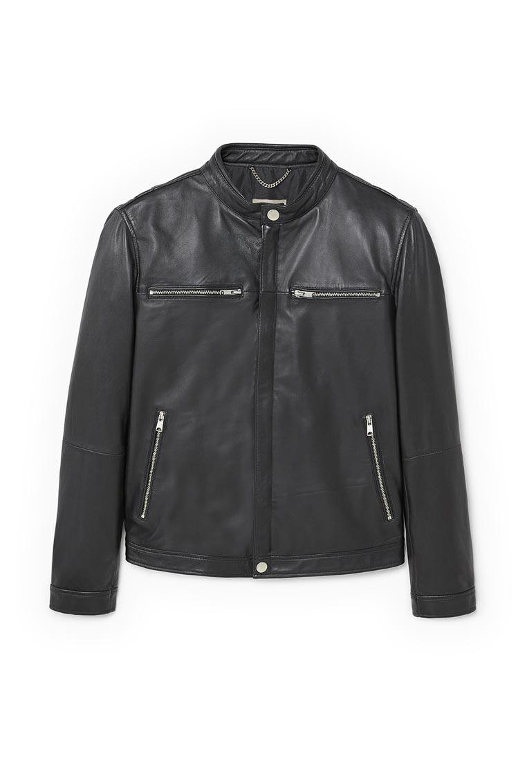 Кожаная куртка Mango Man 13080396
