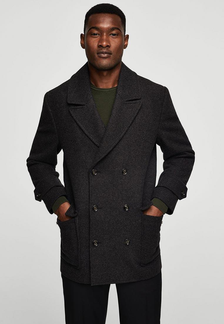 Мужские пальто Mango Man 13007013: изображение 2
