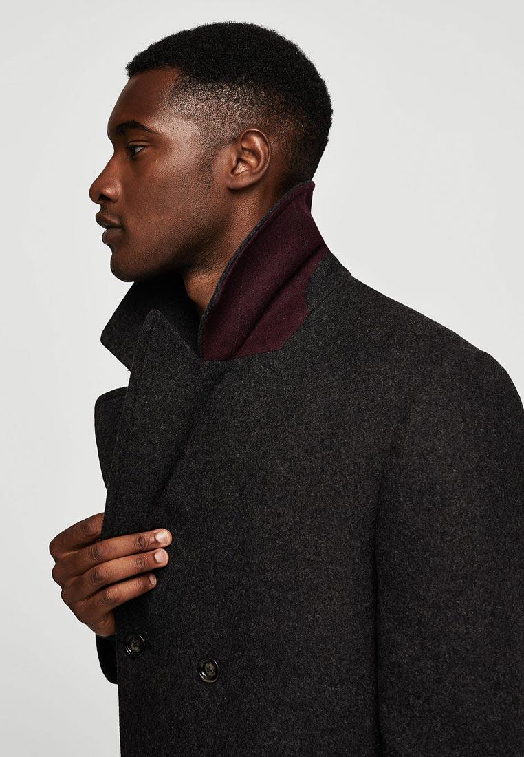 Мужские пальто Mango Man 13007013: изображение 4