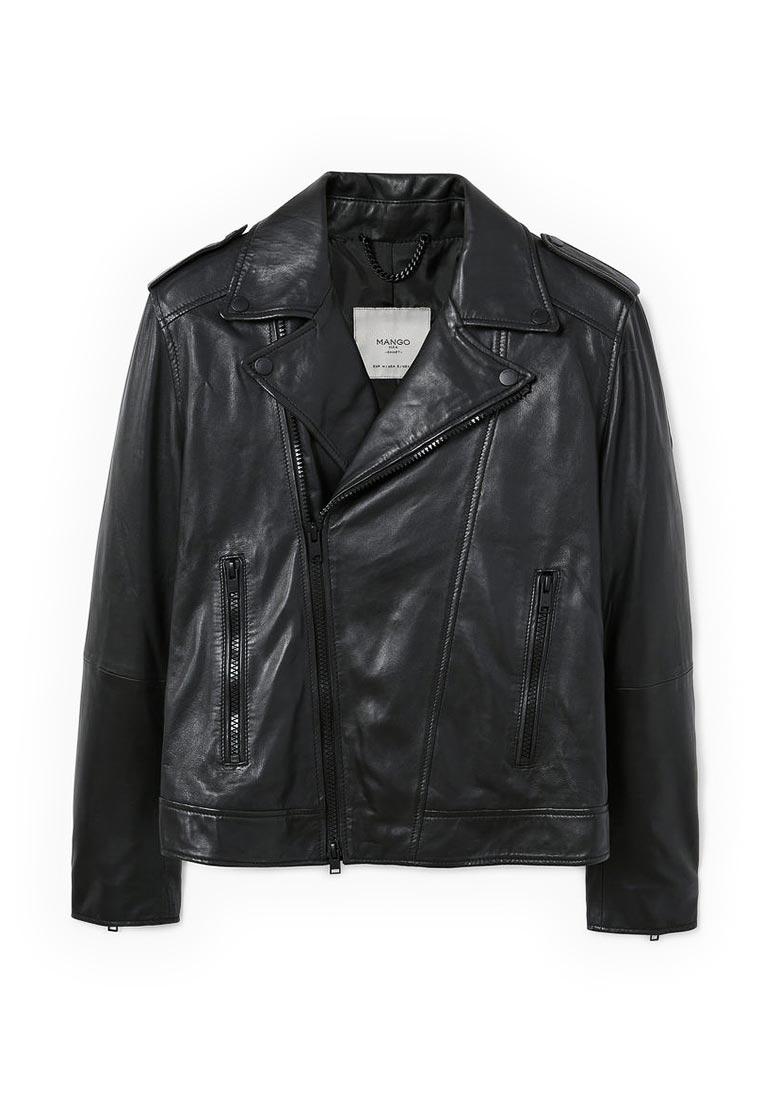 Кожаная куртка Mango Man 13083644
