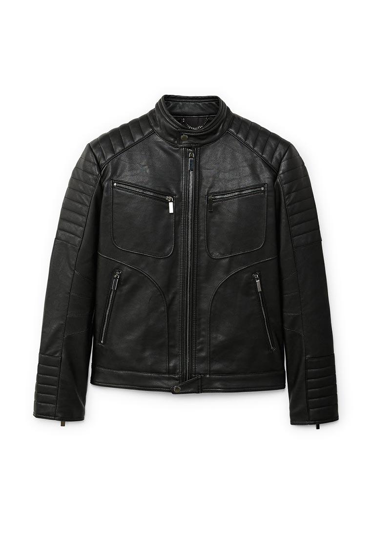 Кожаная куртка Mango Man 23070335