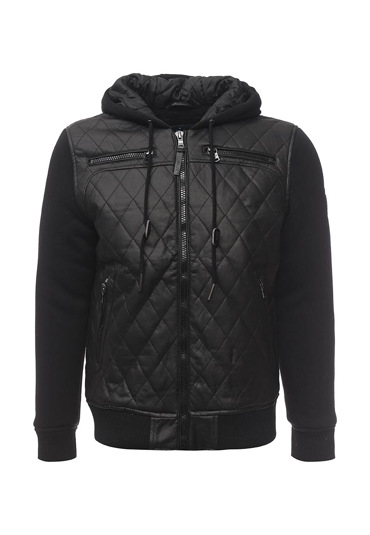Кожаная куртка HOMEBASE 47136241