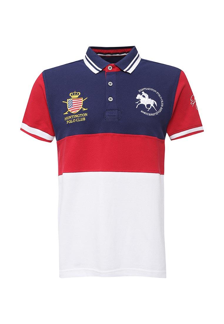 Мужские футболки поло Huntington Polo Club EDWARD_505002_PATRIOTBLUE