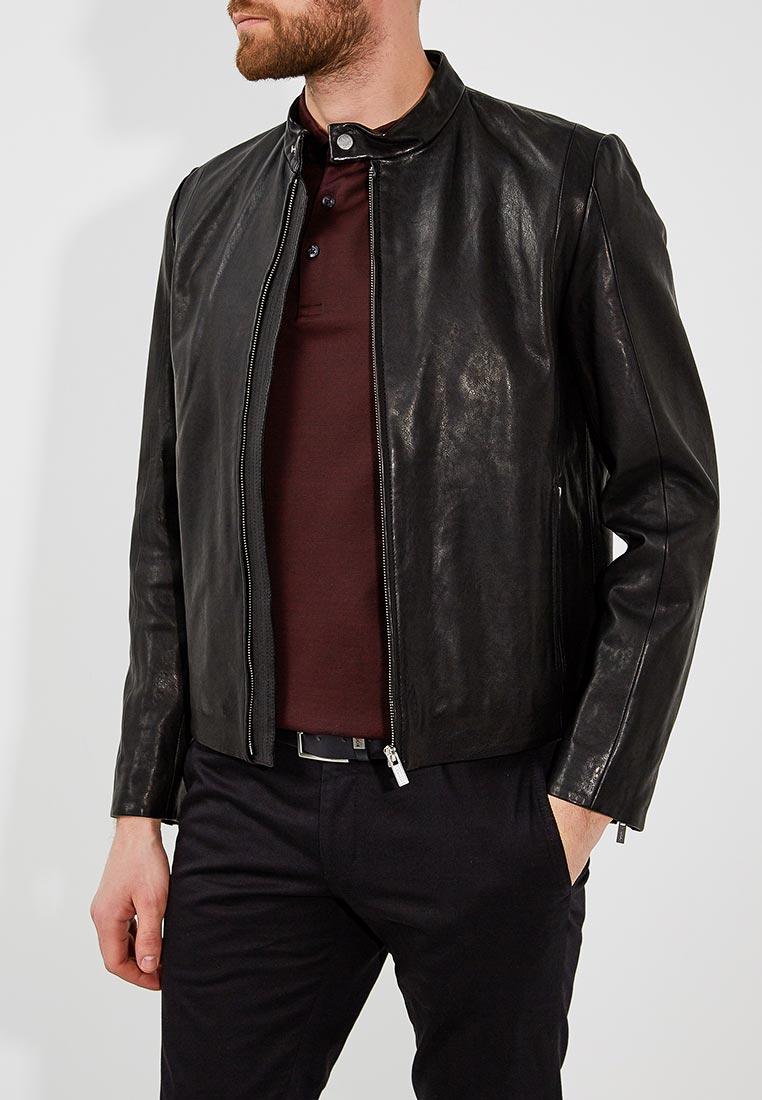 Кожаная куртка Hugo Hugo Boss 50382616