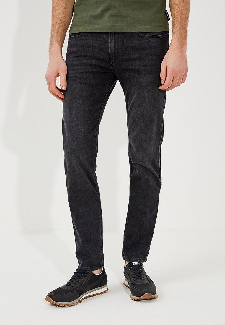 Зауженные джинсы Hugo Hugo Boss 50382850