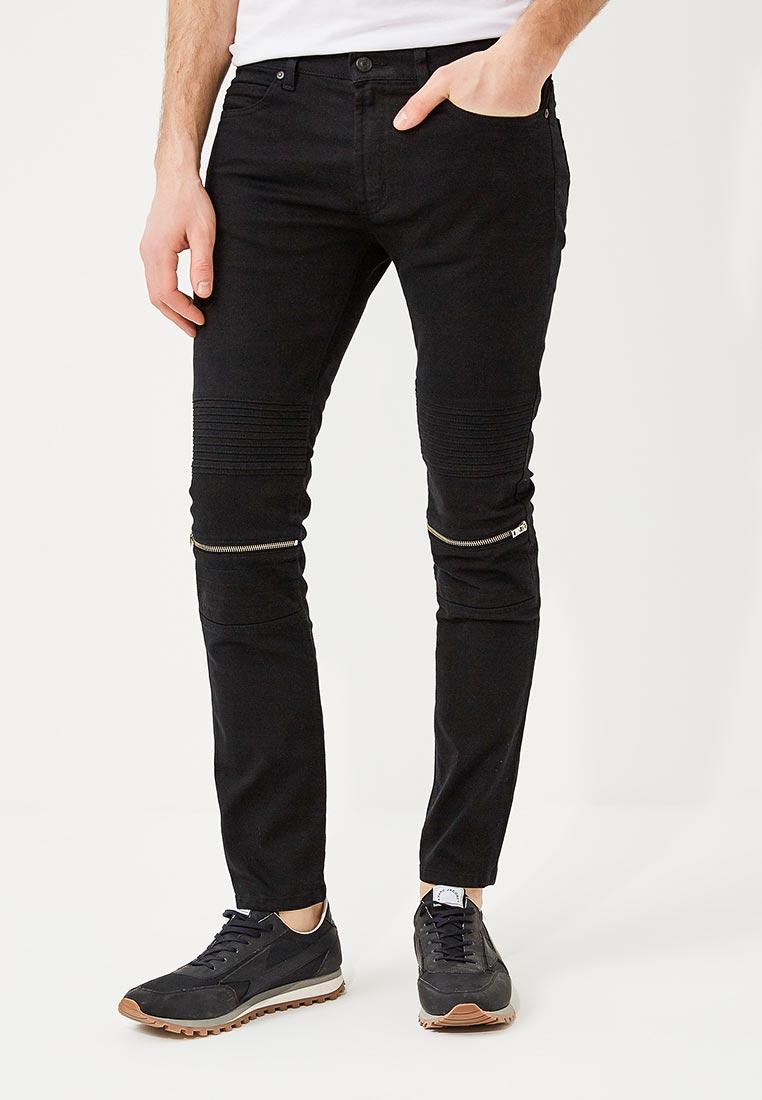 Зауженные джинсы Hugo Hugo Boss 50382855