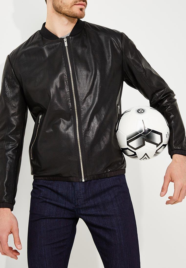 Кожаная куртка Hugo Hugo Boss 50390053