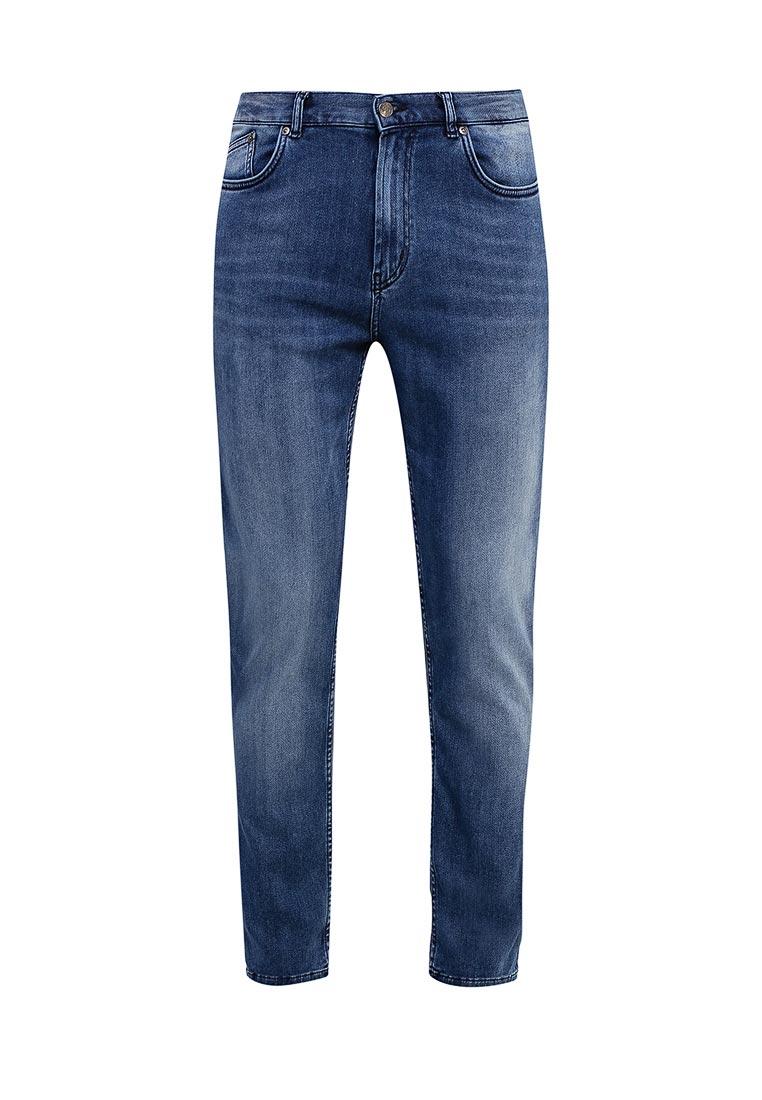 Зауженные джинсы Hugo Hugo Boss 50369110
