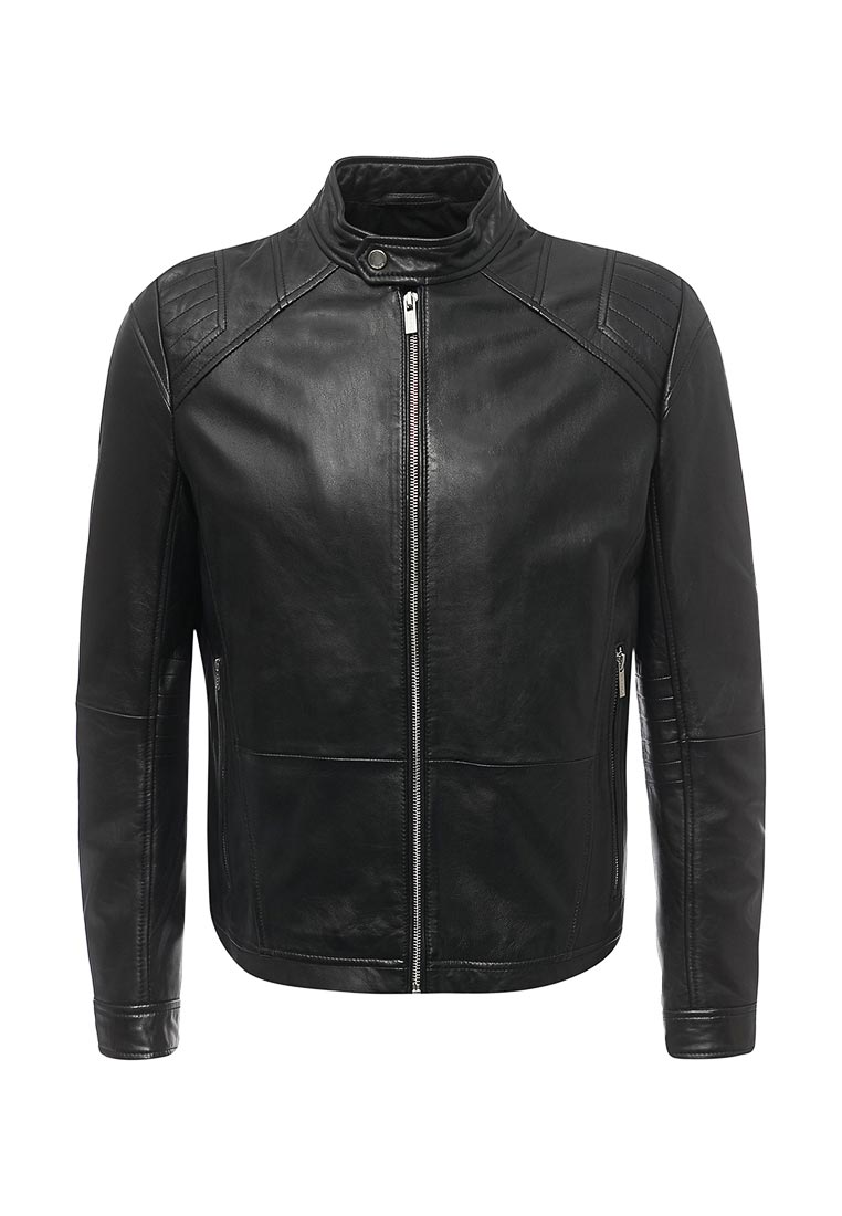 Кожаная куртка Hugo Hugo Boss 50378096
