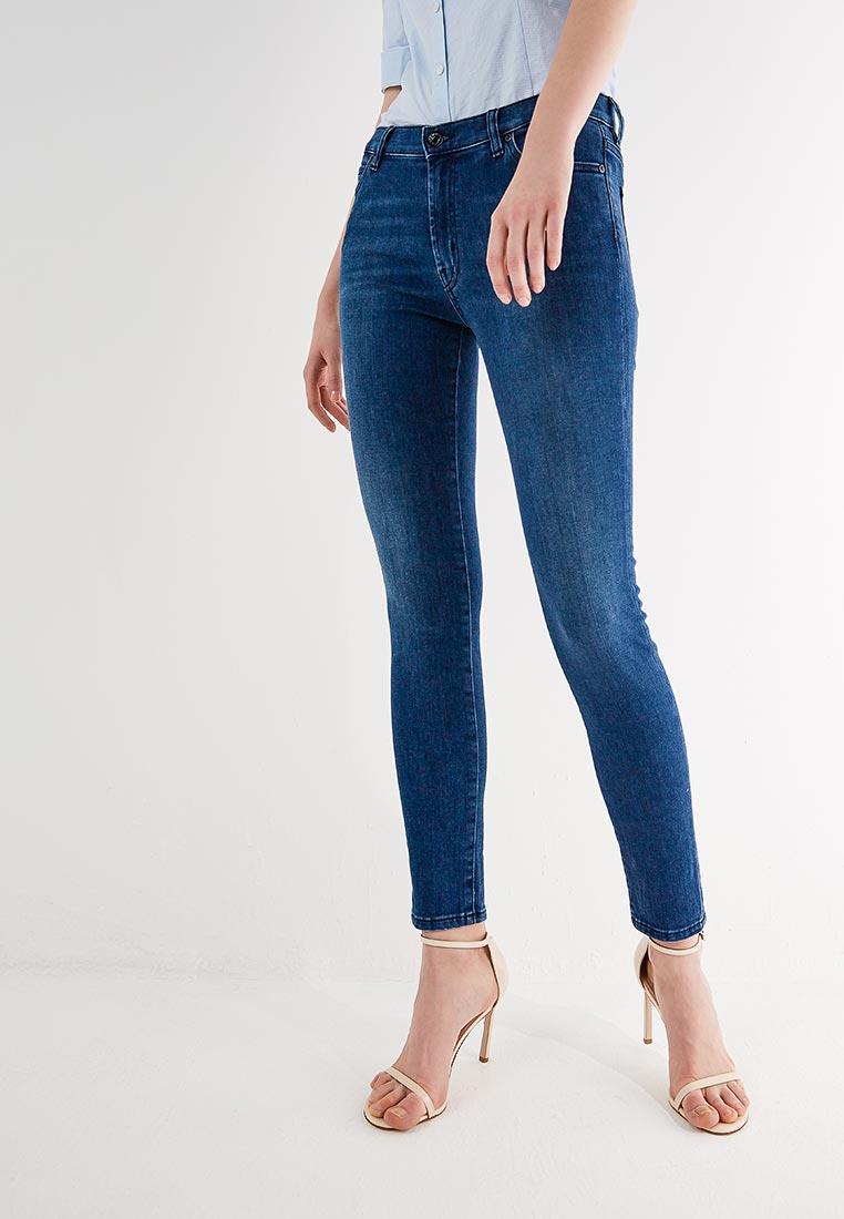 Зауженные джинсы Hugo Hugo Boss 50382076