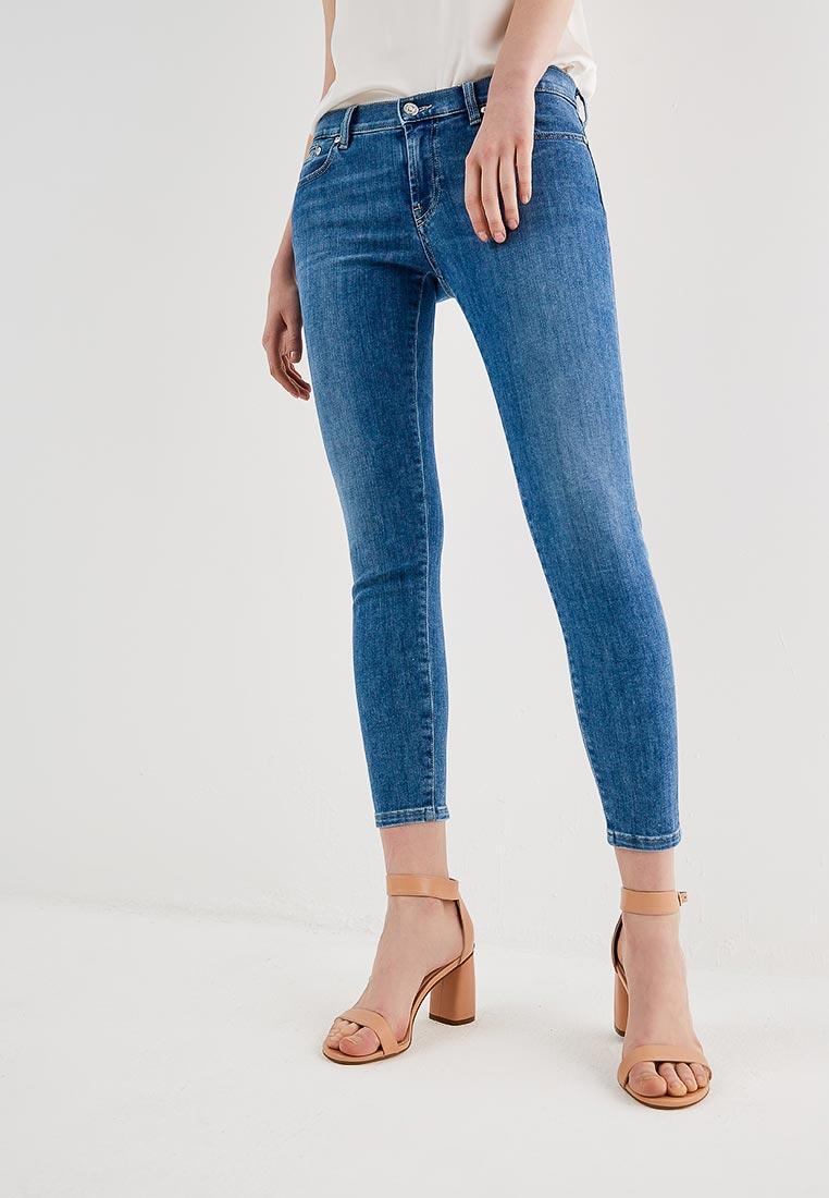 Зауженные джинсы Hugo Hugo Boss 50382058