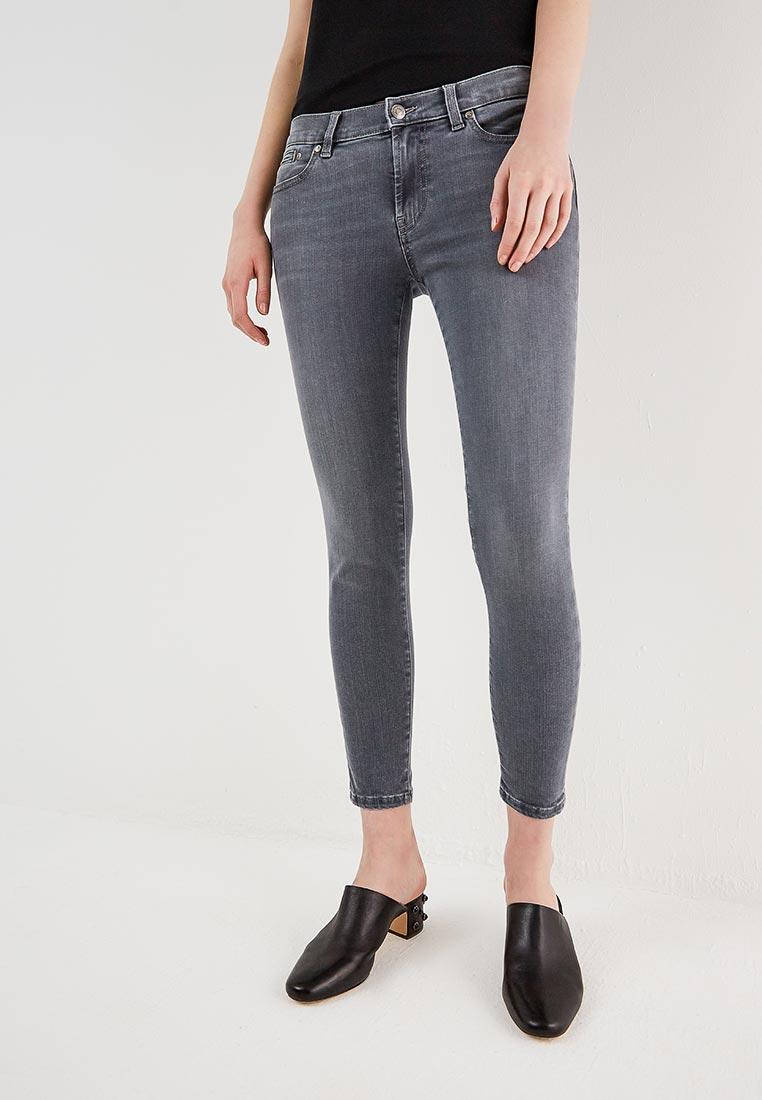 Зауженные джинсы Hugo Hugo Boss 50382120