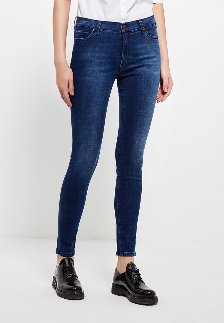 Зауженные джинсы Hugo Hugo Boss 50378270