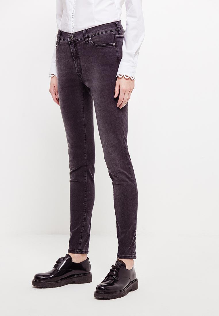 Зауженные джинсы Hugo Hugo Boss 50378293