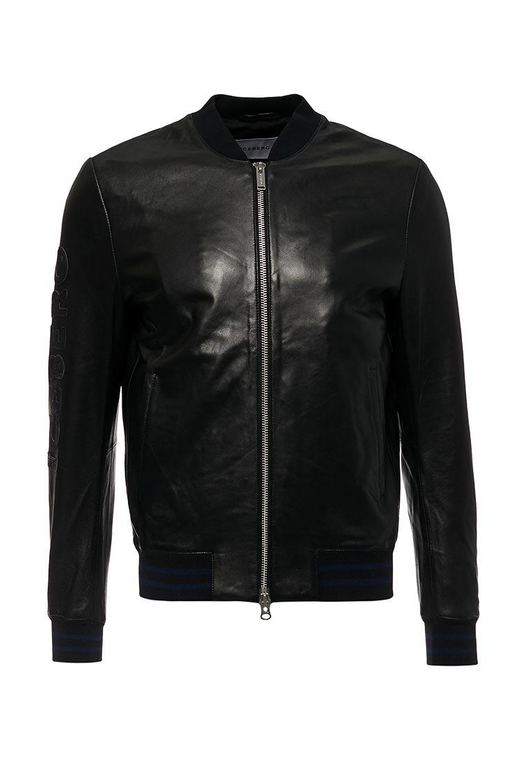 Кожаная куртка Iceberg (Айсберг) ZO106800