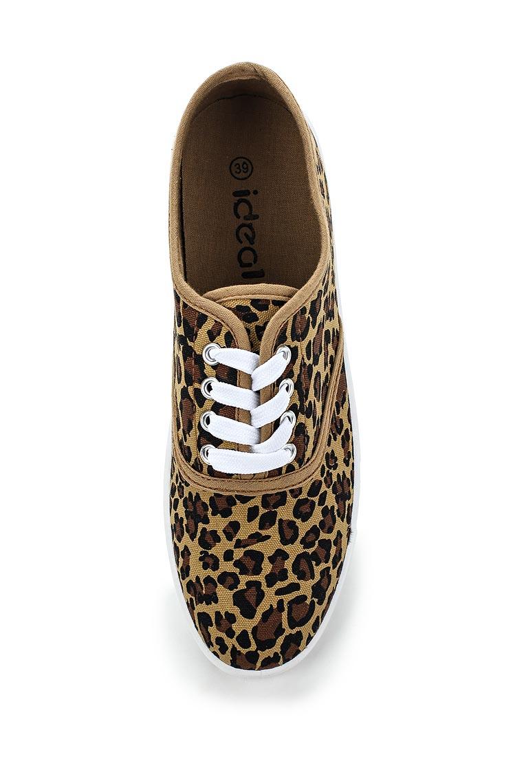 Женские кеды Ideal Shoes A5-16: изображение 5
