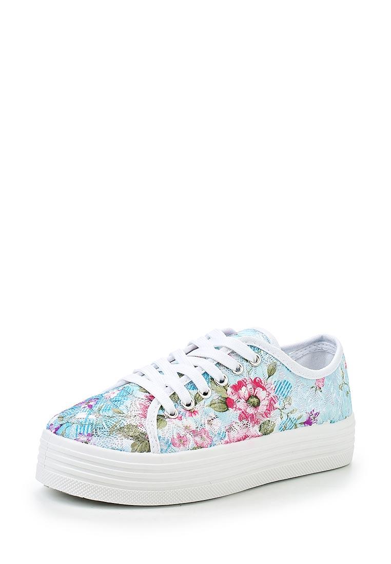 Женские кеды Ideal Shoes LZ-9811