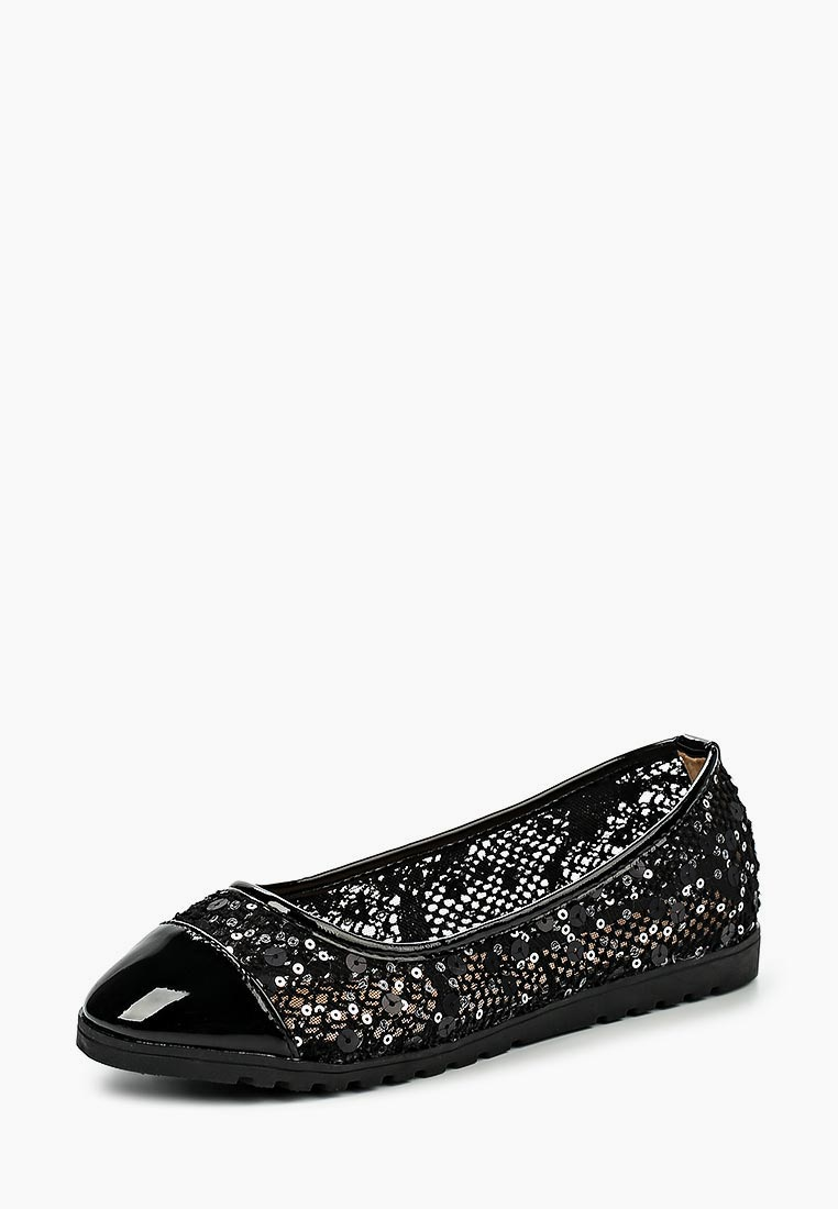 Женские балетки Ideal Shoes G-9698