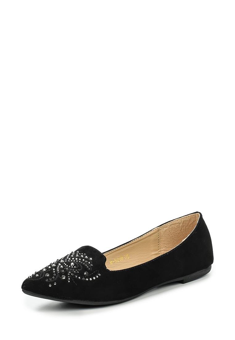 Туфли на плоской подошве Ideal M-5208