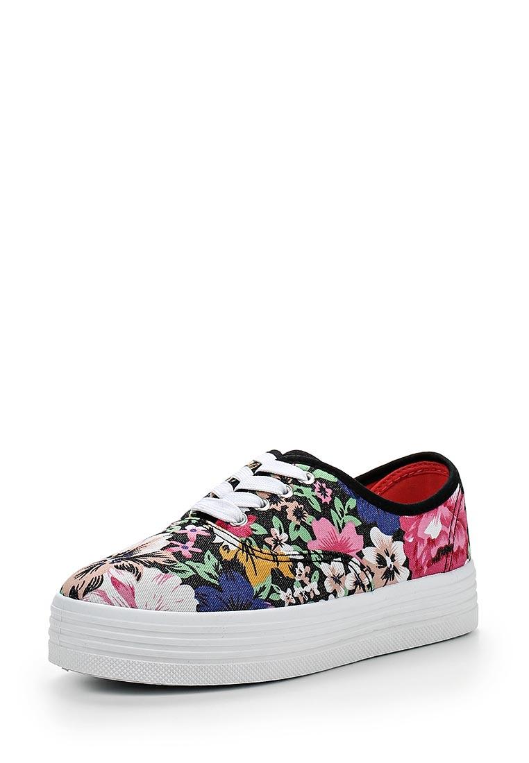 Женские кеды Ideal Shoes LZ-9819