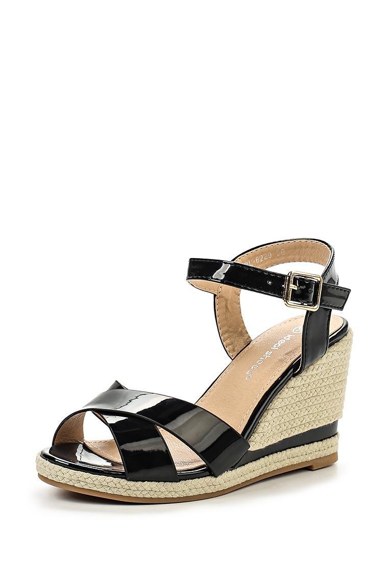 Женские эспадрильи Ideal Shoes BL-6229