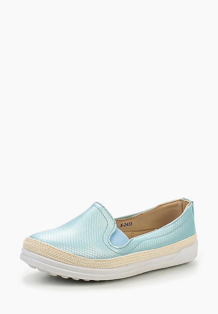 Женские слипоны Ideal Shoes X-2433