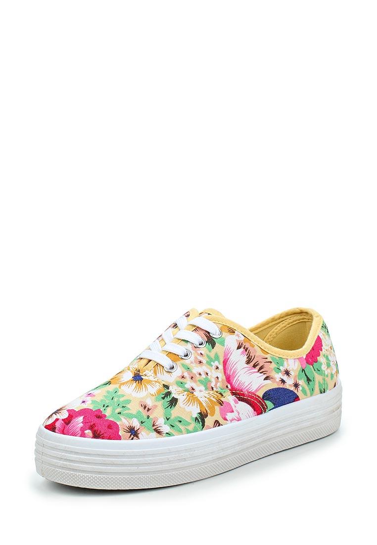 Женские кеды Ideal Shoes LZ-9821