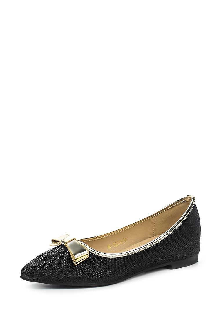 Туфли на плоской подошве Ideal Shoes M-5209