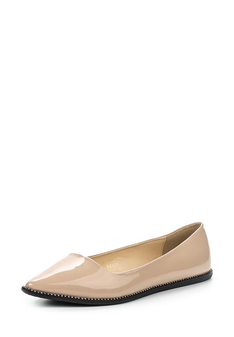 Туфли на плоской подошве Ideal Shoes TL-2402