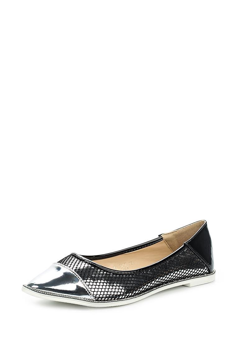 Туфли на плоской подошве Ideal TL-2437