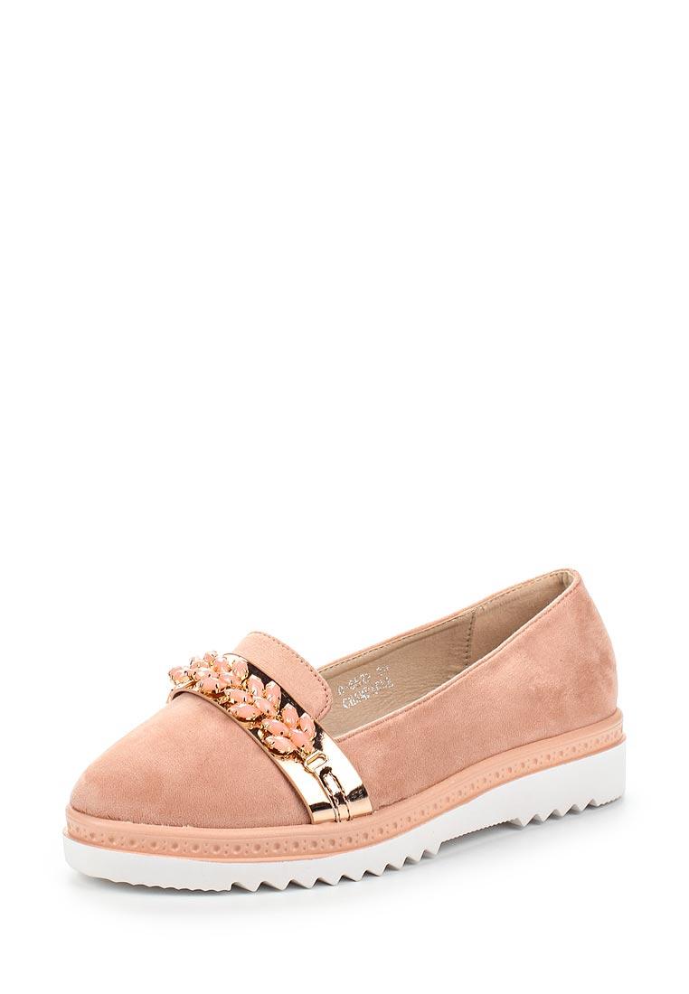 Женские лоферы Ideal Shoes D-6522