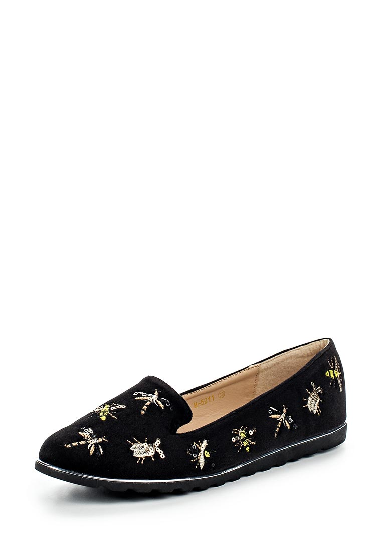 Женские лоферы Ideal Shoes M5211
