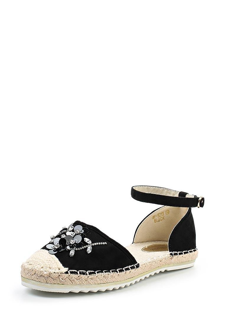 Женские эспадрильи Ideal Shoes M-5213