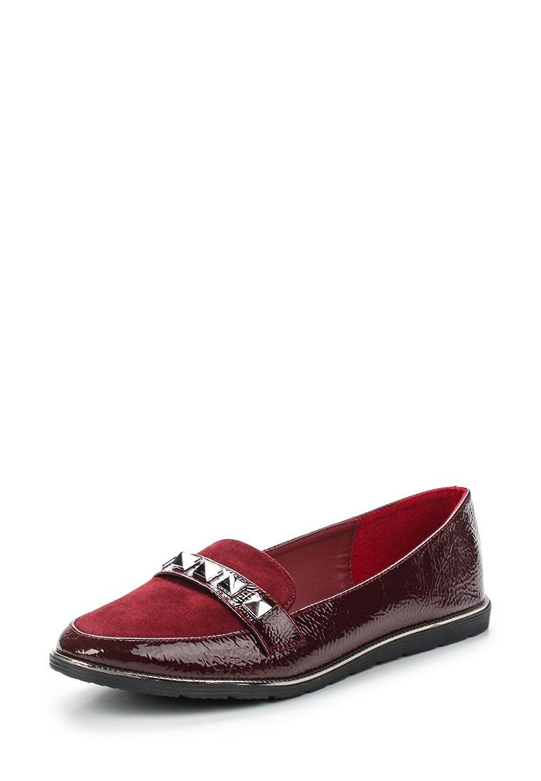 Туфли на плоской подошве Ideal Shoes M-5221