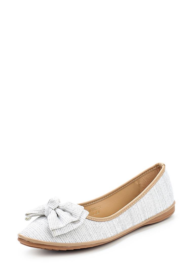Женские балетки Ideal Shoes M-8805: изображение 1