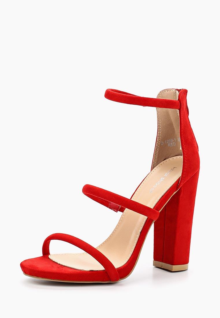 Женские босоножки Ideal Shoes D-1209-1
