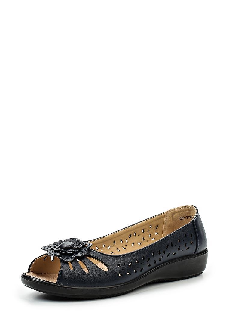 Туфли на плоской подошве Instreet 203-31WE-033SS