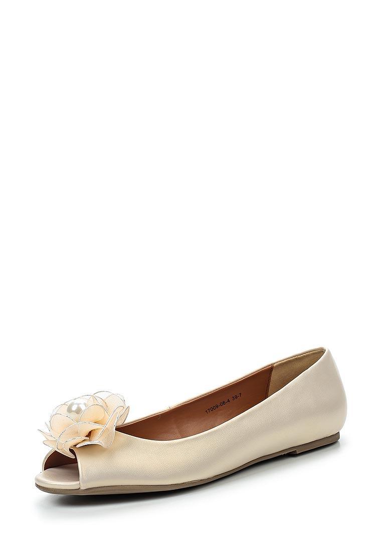 Туфли на плоской подошве Inario (Инарио) 17009-06-4
