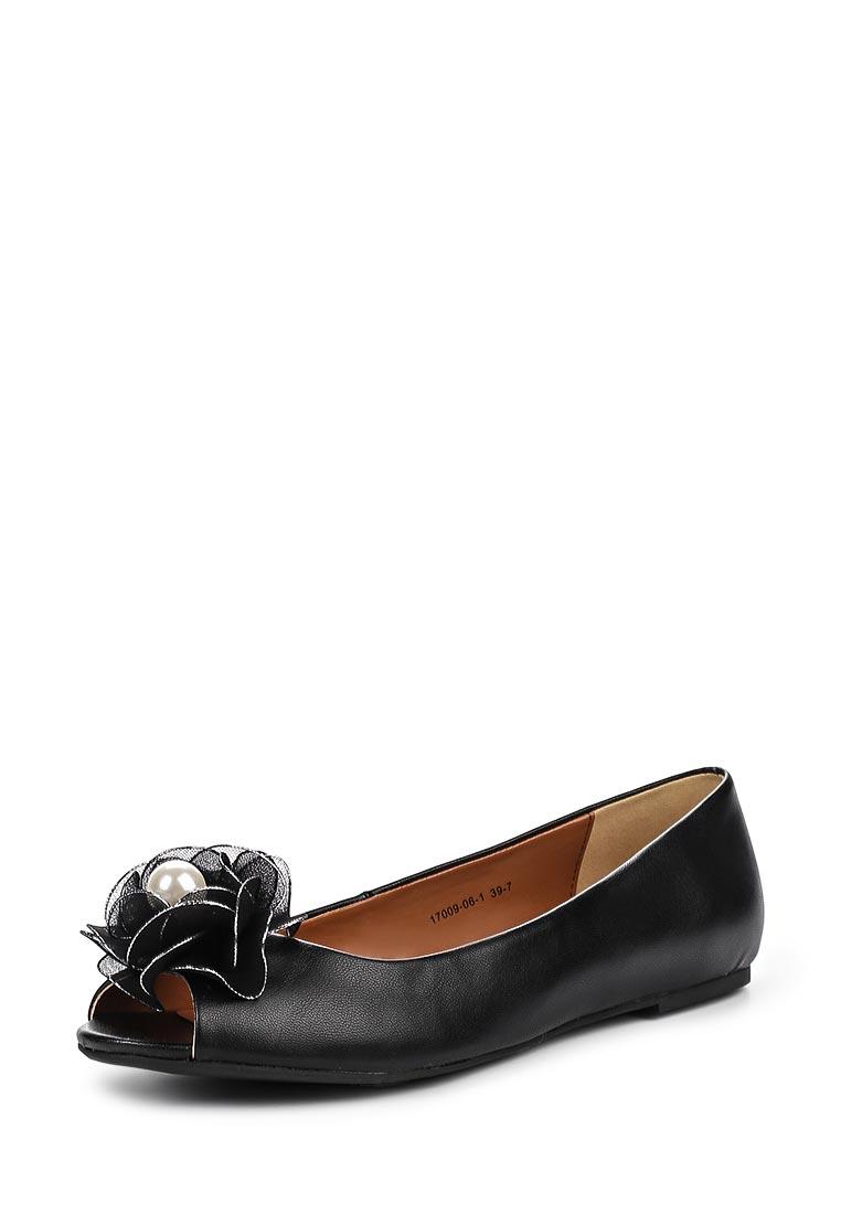 Туфли на плоской подошве Inario (Инарио) 17009-06-1