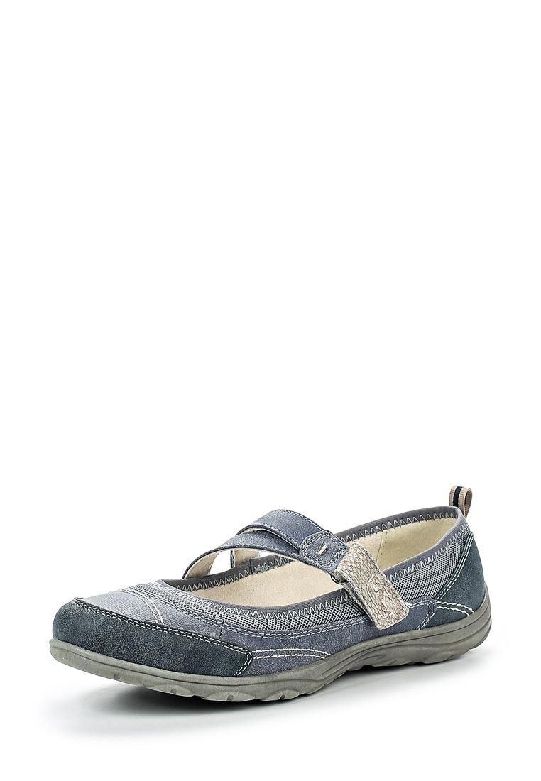 Туфли на плоской подошве Jana 8-8-24663-28-802