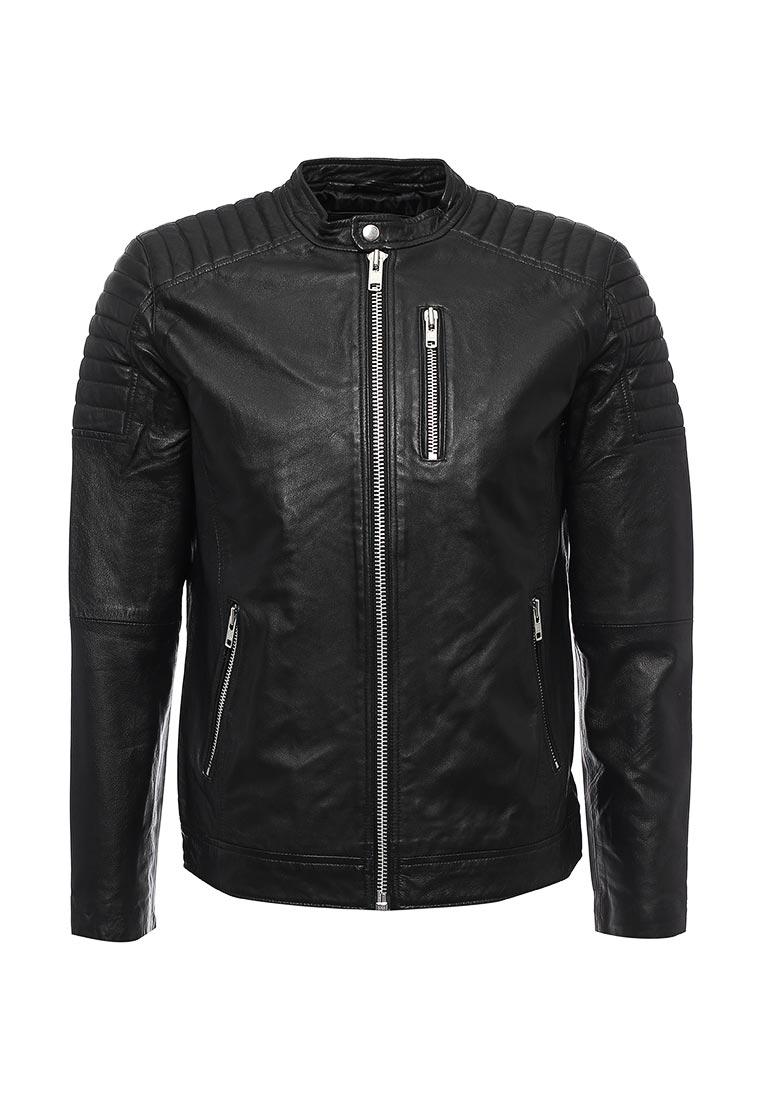 Кожаная куртка Jack & Jones 12121697