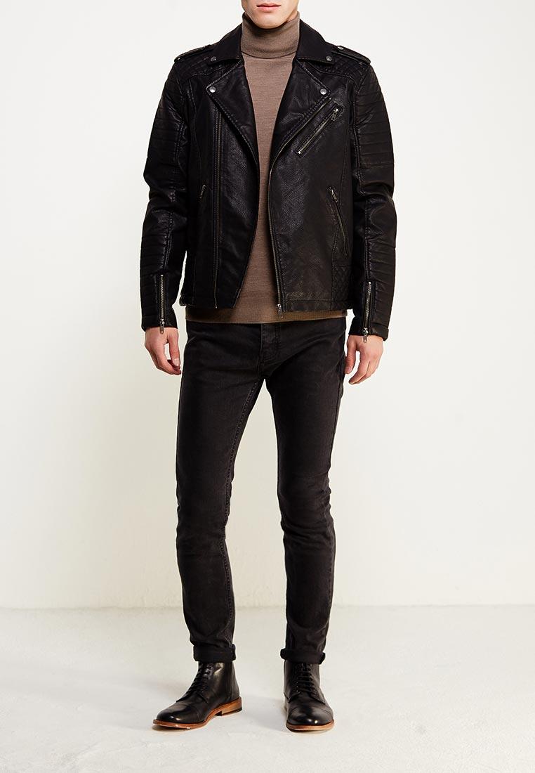 Кожаная куртка Jack & Jones 12122554: изображение 2