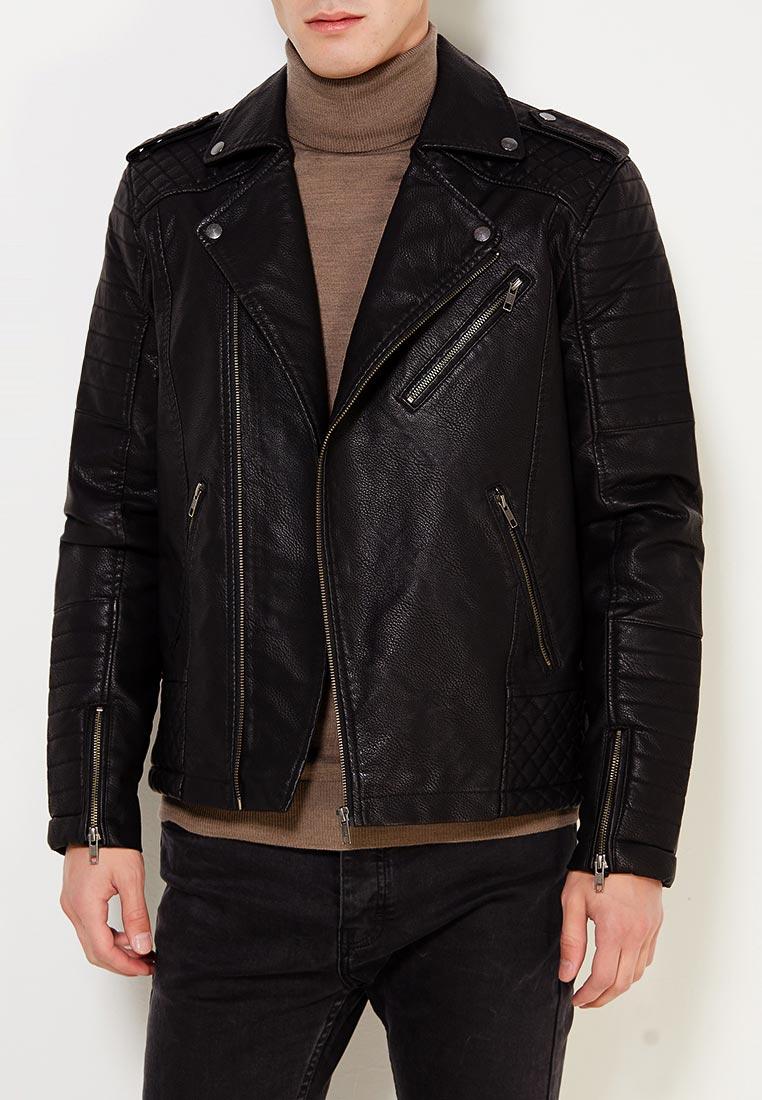 Кожаная куртка Jack & Jones 12122554: изображение 3
