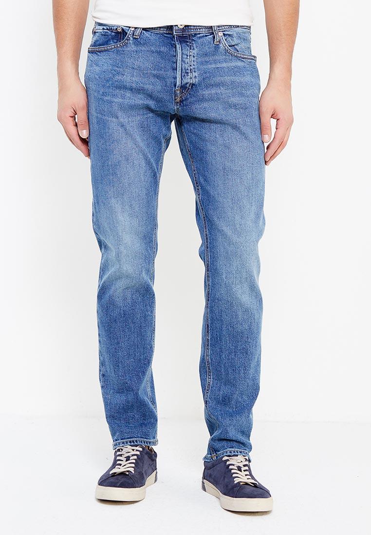 Мужские прямые джинсы Jack & Jones (Джек Энд Джонс) 12132873