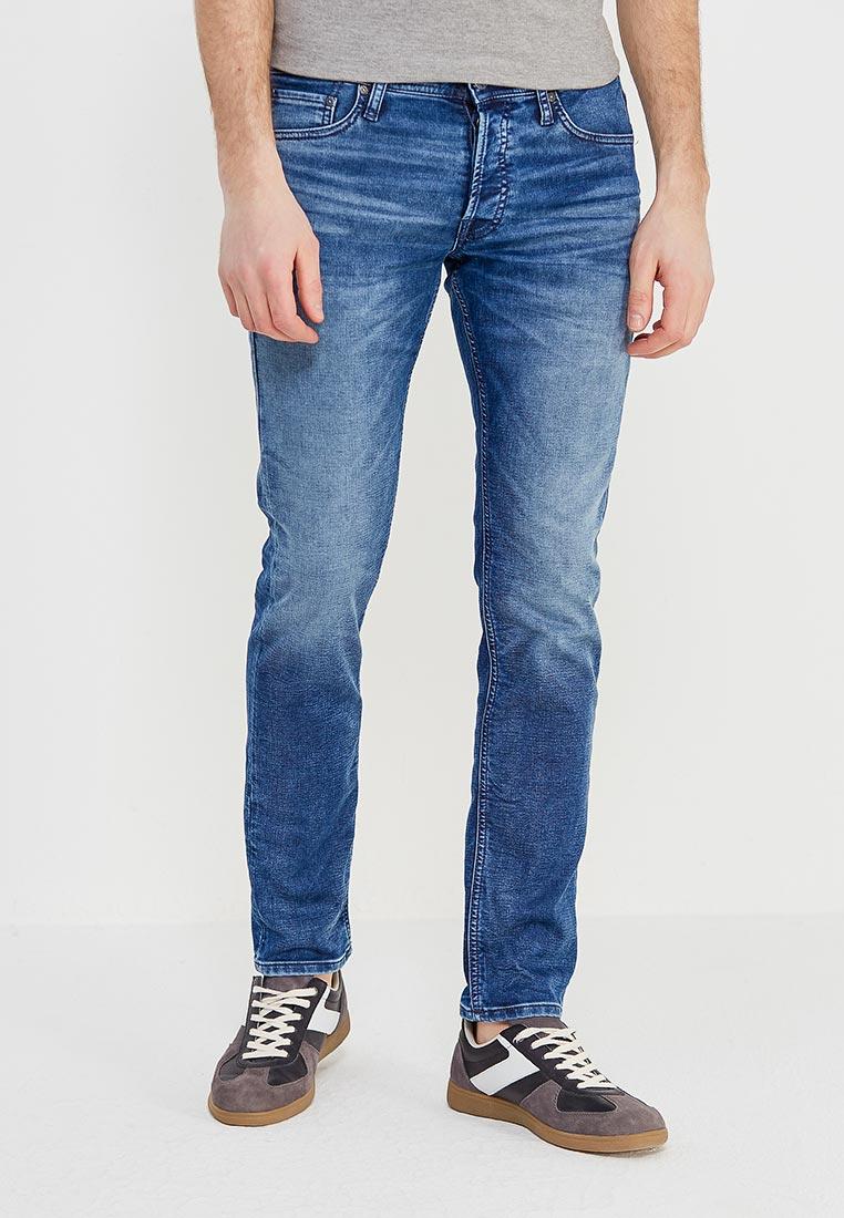 Мужские прямые джинсы Jack & Jones (Джек Энд Джонс) 12133236