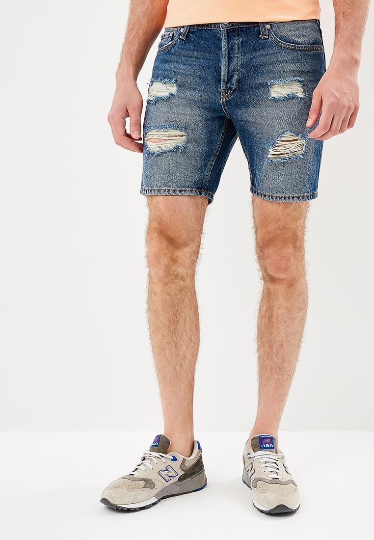 Мужские джинсовые шорты Jack & Jones (Джек Энд Джонс) 12133315