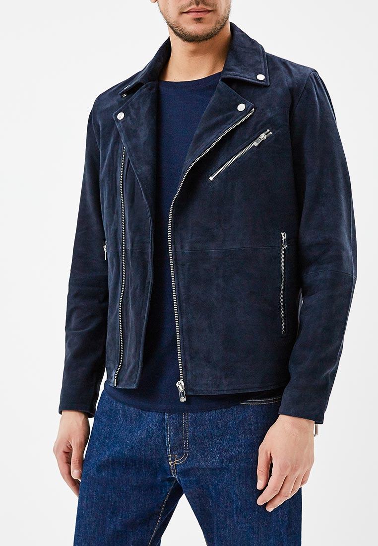 Кожаная куртка Jack & Jones (Джек Энд Джонс) 12132344