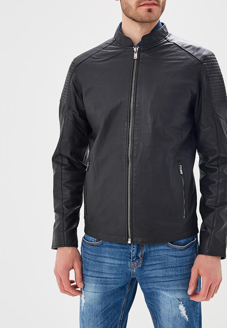Кожаная куртка Jack & Jones (Джек Энд Джонс) 12134800