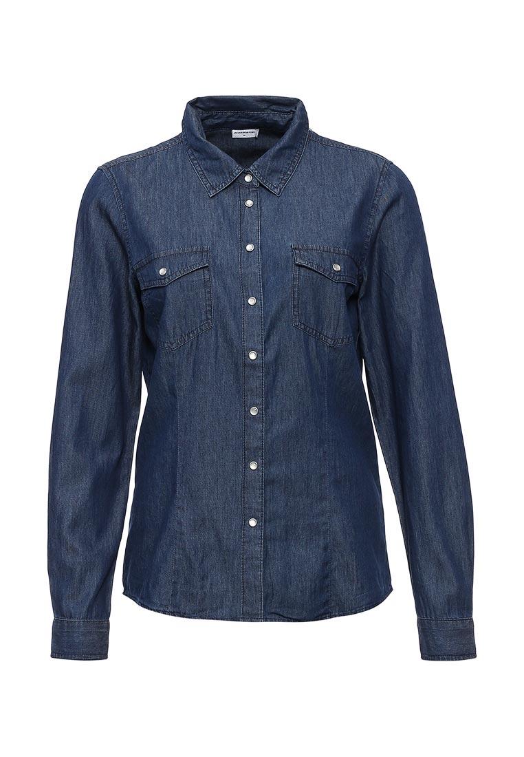 Женские джинсовые рубашки Jacqueline de Yong (Жаклин Де Йонг) 15117493