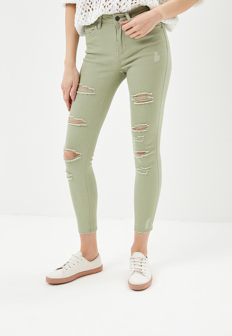 Женские зауженные брюки Jennyfer (Дженнифер) PAE18NEOFUN
